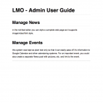 Admin User Guide for a private Qld Gov't social network site.